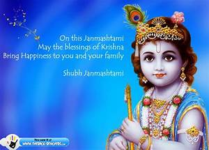 Happy Krishna Janmashtami Greetings Cards Images Photos ...