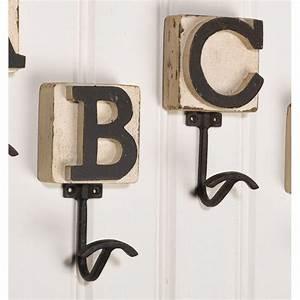 78 images about letter hooks on pinterest letter b for Letter hooks hobby lobby