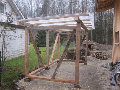 Haus Selber Bauen Aus Holz by Holzhaus Wir Bauen Ein Haus Aus Holz Unterstand Fertig