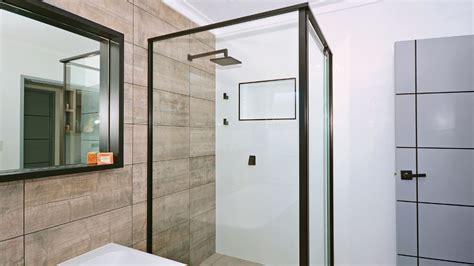 framed frameless shower screens bradnams windows doors