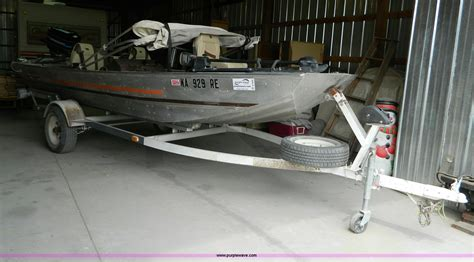 Bass Boats For Sale Midwest by Bass Tracker Iii 16 Aluminum Boat Item B3682 Sold