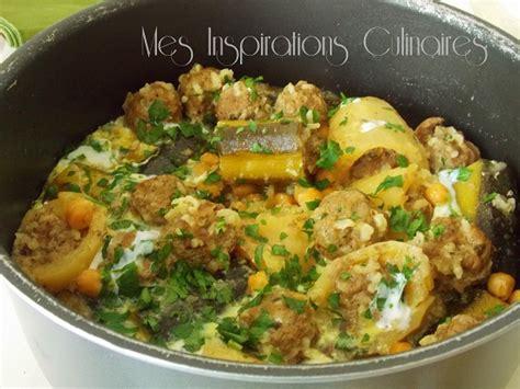 recette cuisine marocaine dolma courgettes pomme de terre le cuisine de samar