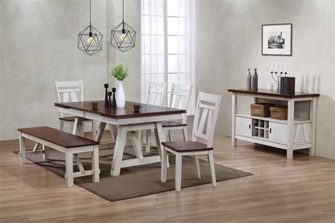 casual kitchen table and chair dining bench davis home furniture asheville canton