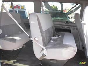 Grey Interior 1998 Ford E Series Van E350 Xlt Club Wagon Photo  47446438