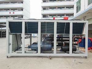 Modular 100 Ton 350 Kw Air Cooled Screw Water Chiller