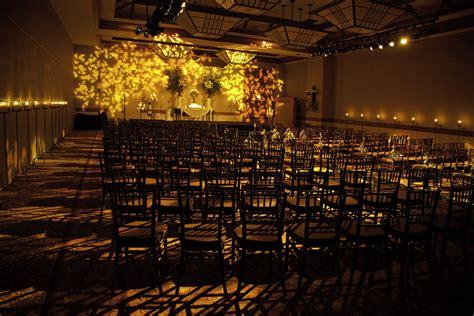 wedding venue indoor garden decor