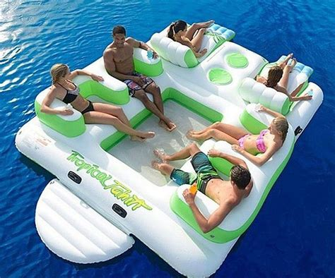 Inflatable 6-seater Island Lilo Is The One Thing We Need