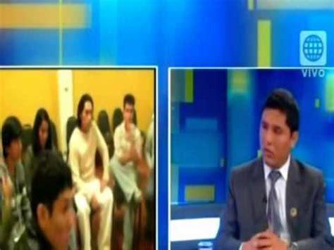 Entrevista en Sin peros en la lengua América Televisión
