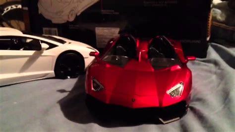 Lamborghini aventador j rc model - YouTube
