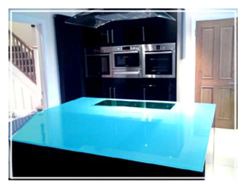 Glass Worktops for Kitchens including a nationwide