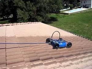 Nettoyage Toiture Karcher : nettoyage toiture robot laveur de toit haute pression youtube ~ Dallasstarsshop.com Idées de Décoration