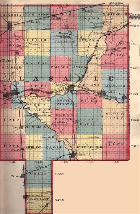 la salle county illinois maps and gazetteers