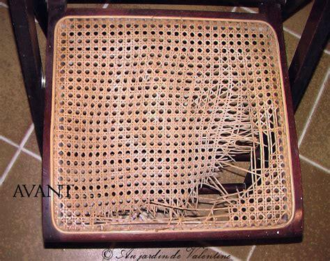 refaire le cannage d une chaise cannage chaise au jardin de