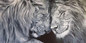 Peinture En Noir Et Blanc : peintures sur toile noir et blanc peintures portraits et monde fantastique ~ Melissatoandfro.com Idées de Décoration