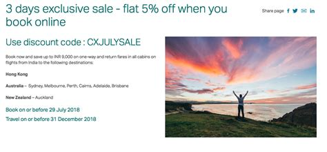 67084 Cathay Pacific Discount Code by Upto Inr 9 000 With Cathay Pacific Discount Code