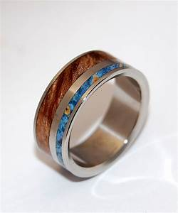Mens wooden wedding bands as alternative rings for Wedding rings and bands