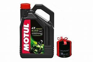 Huile Moteur Moto : huile moto motul 5100 4t 10w40 4 litres filtre a huile ~ Melissatoandfro.com Idées de Décoration