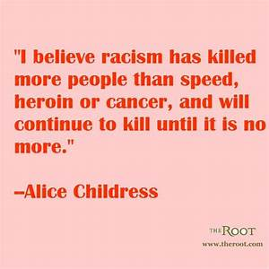 Best Black History Quotes: Alice Childress on Racism ...