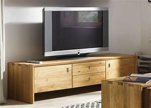 TV Lowboard TV Mbel Kommode Wildeiche Massiv Holz