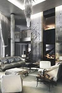 20 Interiors In Silver