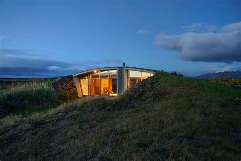Best Interior Designed Homes - studio granda creates a contemporary turf house in reyjkavik iceland
