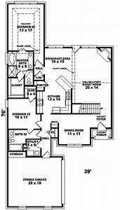 Eaglewood, European, Home, Plan, 087d