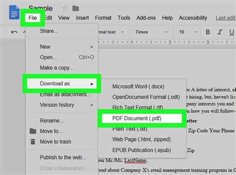 How To Turn An Excel Spreadsheet Into A Fillable Pdf ...