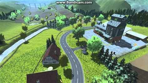 landwirtschafts simulator  wildbach tal map youtube