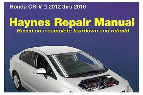 2012 honda civic repair manual free download