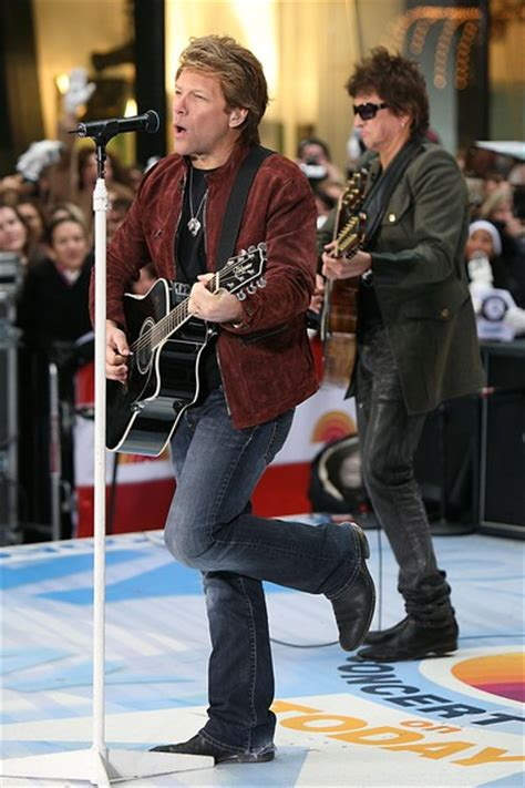 Richie Sambora Bon Jovi Performs The Today Show
