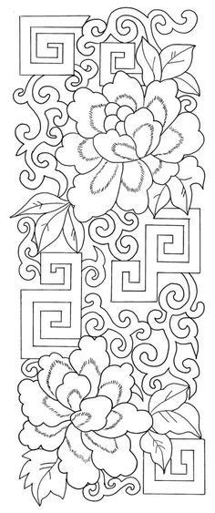 Image result for traditional chinese pattern embroidery