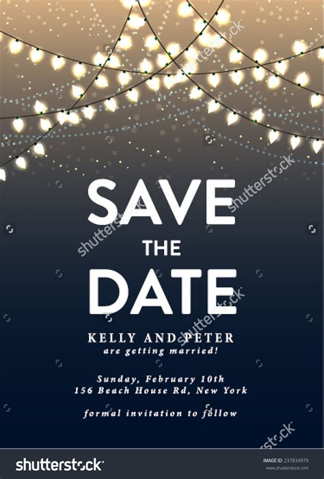 save  date party templates