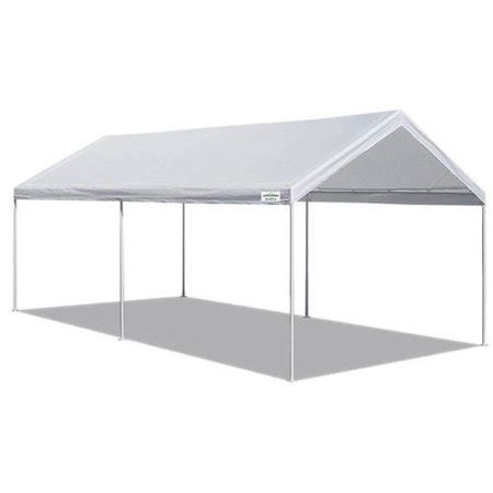 caravan canopy sports    domain carport garage  sq ft coverage walmartcom