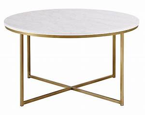 18 white marble coffee tables we love With affordable marble coffee table