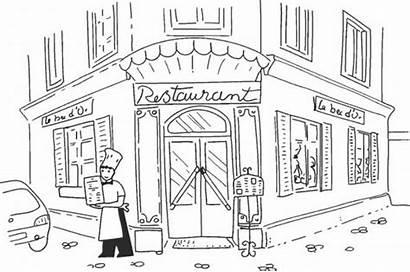 Restaurant Coloriage Gratuit Laruscade Fille Restaurants Telecharger