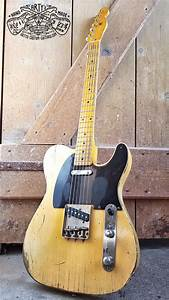 50 U0026 39 S Telecaster Broadcaster Heavy Relic Tele Butterscotch