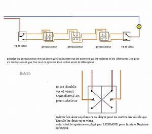 Cabler Un Va Et Vient : branchement de 3 va et vient sur une install existante ~ Voncanada.com Idées de Décoration