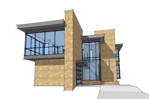 Moderne Haus Plan by Modern House Plans Home Design Skiatook