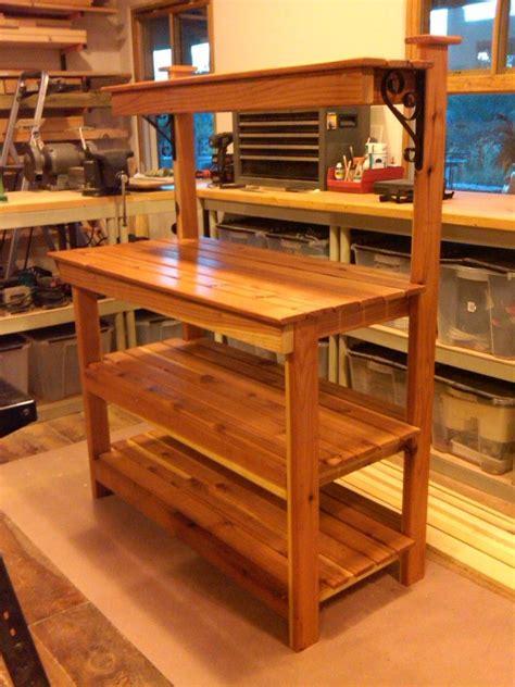 potting bench  real beauty potting bench plans potting