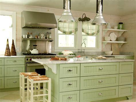 10 Soft Green Kitchen Ideas « Interior Design Files