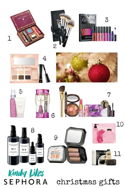 sephora christmas gifts for beauty lovers kimba likes