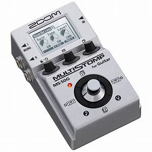 Zoom MS-50G « Guitar Effect