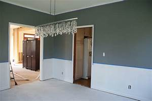 dining rooms with chair rail paint ideas simple home With dining room paint colors with chair rail