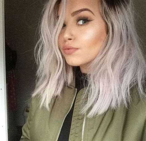 17 Best Ideas About Silver Hair Dye On Pinterest Silver