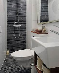 15 modern and small bathroom design ideas home with design for Toilet bathroom designs small space