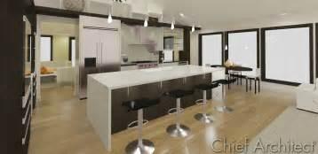 island style kitchen 3 five 12 kitchen waterfall island