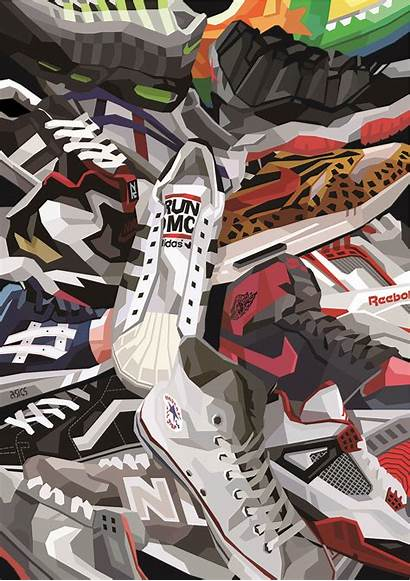 Collage Nike 4k Hypebeast Iron Vlone Wallpapers