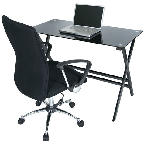 desk chair set levv cd1100blb o5cbb computer desks