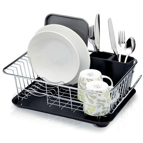 kitchencraft dish drainer rack  drip tray      cm      amazonco