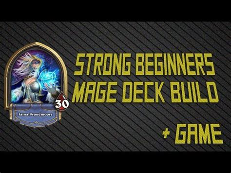 hearthstone starter decks mage hearthstone beginner basic mage deck build and
